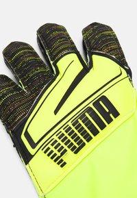 Puma - ULTRA PROTECT 3 JR - Brankářské rukavice - yellow alert/black - 1