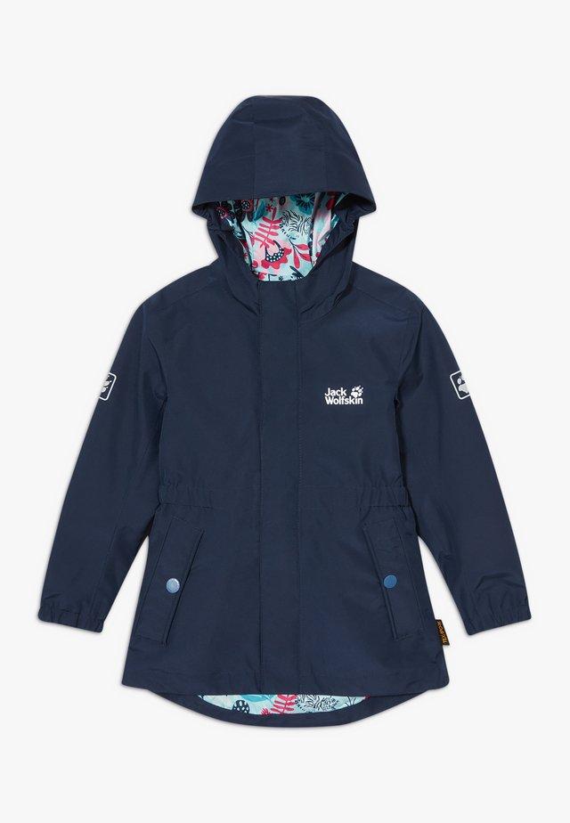 HIDDEN FALLS GIRLS - Hardshell jacket - midnight blue