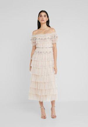 NEVE RUFFLE BALLERINA DRESS - Abito da sera - pearl rose