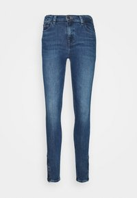 NORA ANKLE ZIP  - Skinny džíny - jasper mid blue
