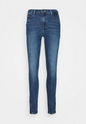 NORA ANKLE ZIP  - Jeansy Skinny Fit - jasper mid blue