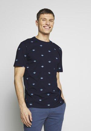 TEE IN SOLID - T-shirt print - dark blue
