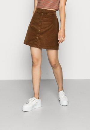 VMRINE SHORT SKIRT - Mini skirt - emperador