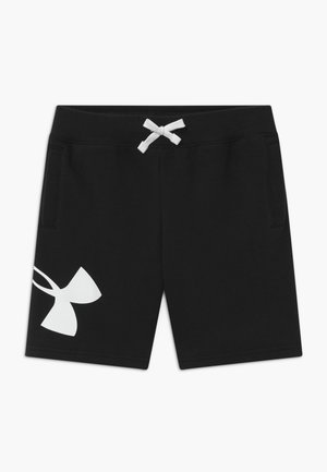 LOGO - Sports shorts - black/white