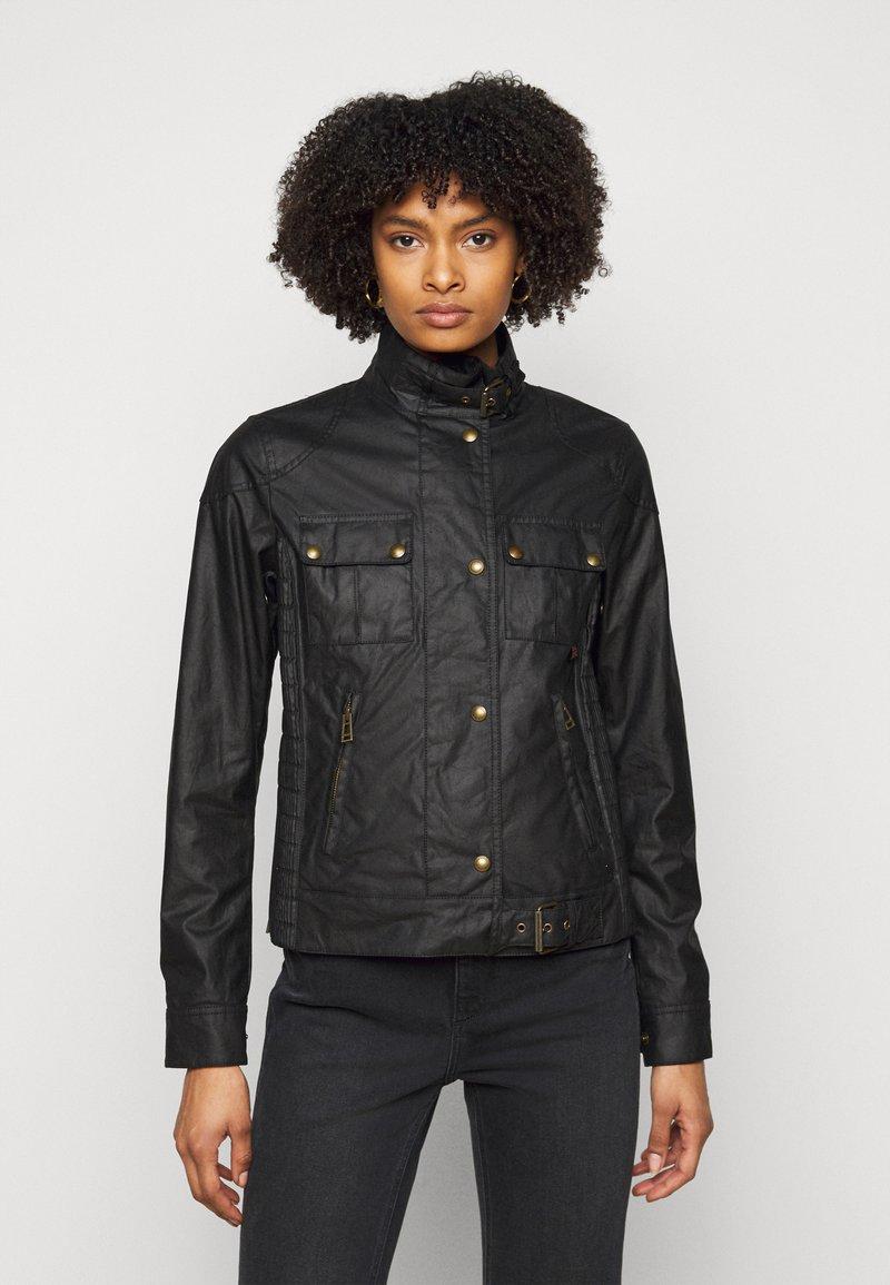 Belstaff - GANGSTER JACKET - Summer jacket - black
