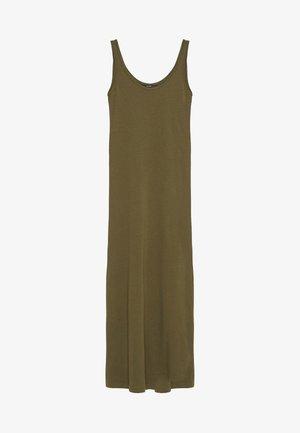 Długa sukienka - ivy green