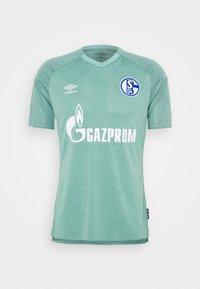 Umbro - FC SCHALKE 04 - Club wear - wasabi/oil blue - 4