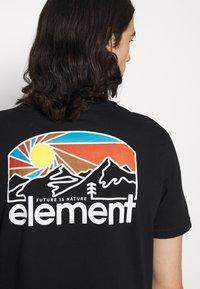 Element - SUNNET - T-shirt print - flint black - 5