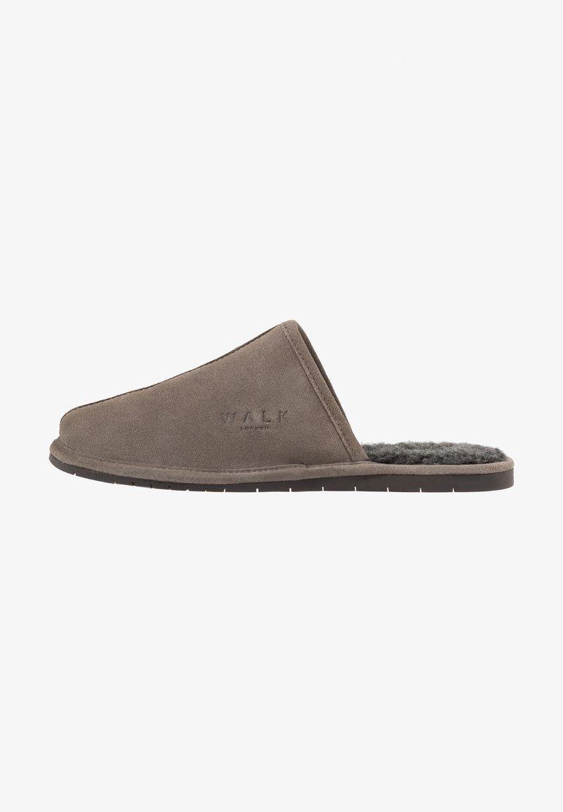 Walk London - LANGLEY - Domácí obuv - grey