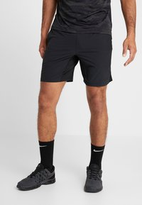 Nike Performance - SHORT YOGA - Sports shorts - black/iron grey - 0