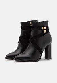 Tamaris Heart & Sole - BOOTS - Kotníková obuv na vysokém podpatku - black - 2