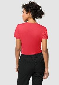 Jack Wolfskin - TECH - Basic T-shirt - tulip red - 1