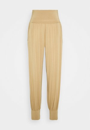 PANTS - Tracksuit bottoms - beige