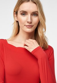 comma - Long sleeved top - red - 2