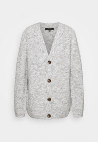 Vero Moda Tall - VMDAISY BUTTON CARDIGAN - Cardigan - light grey melange - 0