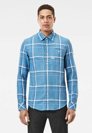 BRISTUM 1 POCKET SLIM - Skjorta - chain blue eric check