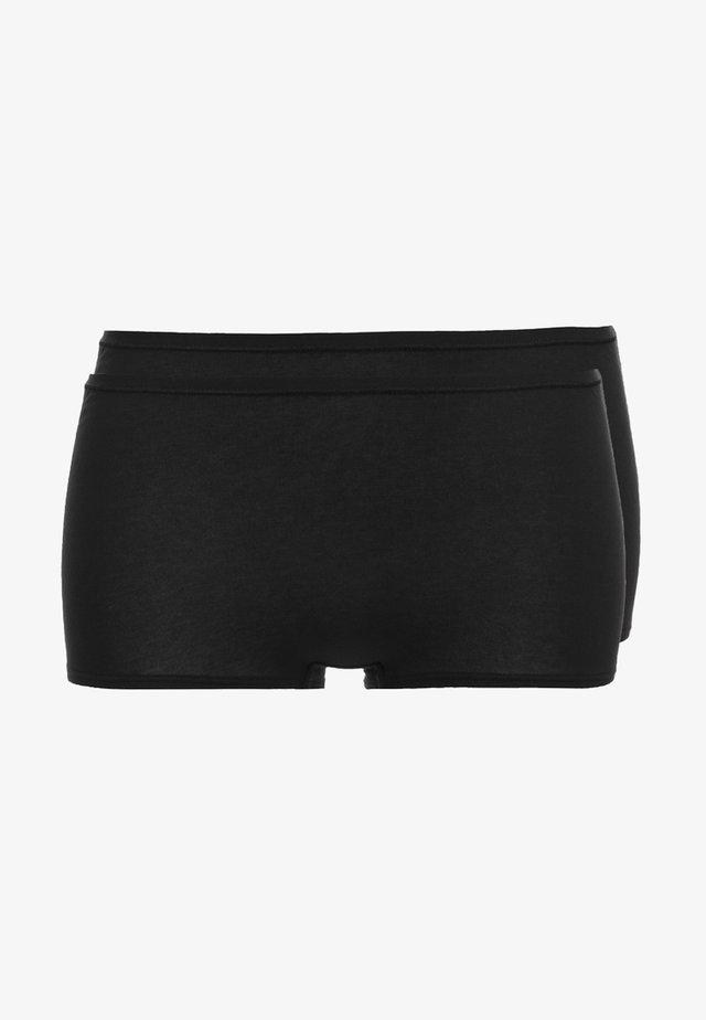 2 PACK - Panties - schwarz