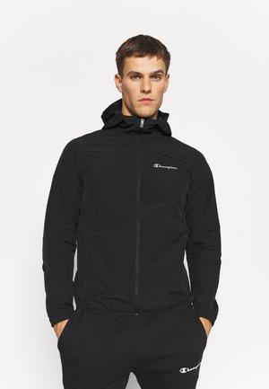LIGHTWEIGHT HOODED JACKET - Sports jacket - black