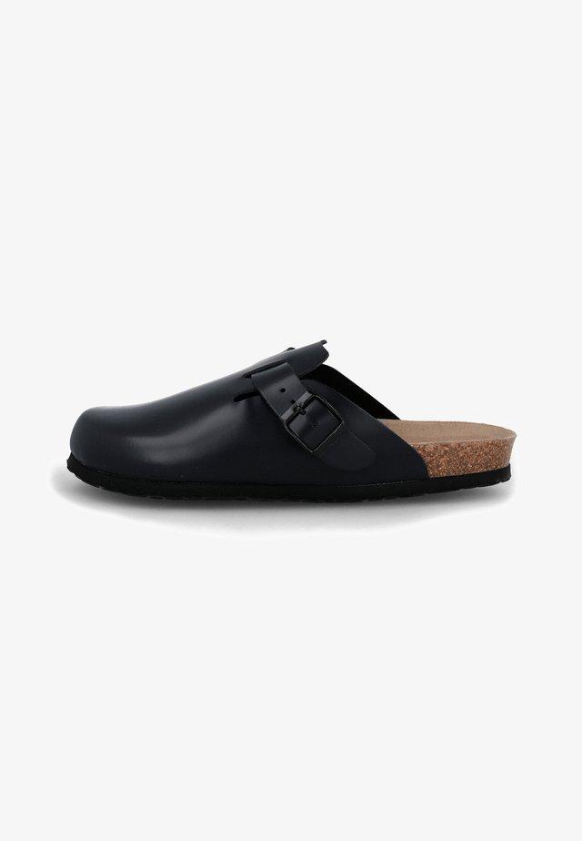 RIVA - Sabots - schwarz