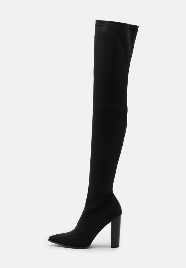 STOOP - Over-the-knee boots - black