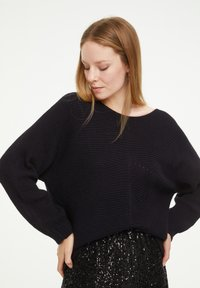 comma casual identity - LOOSE FIT - Jumper - marine - 0