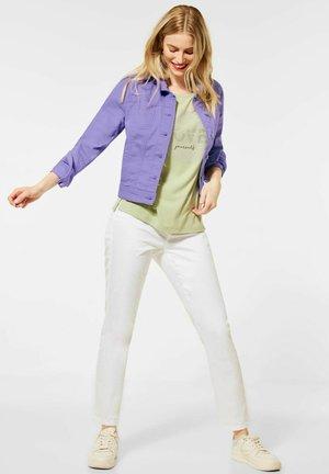 Denim jacket - lila