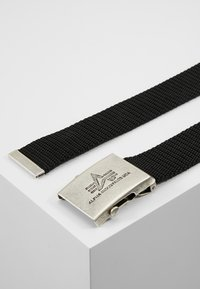 Alpha Industries - HEAVY DUTY BELT - Cintura - black - 2
