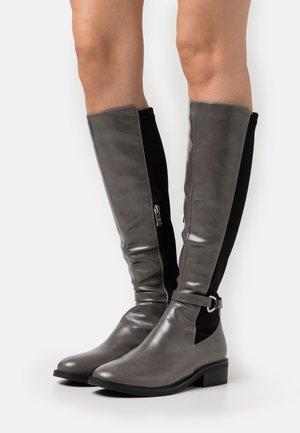 Støvler - grey/black