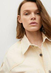 Mango - Button-down blouse - pastelgeel - 4