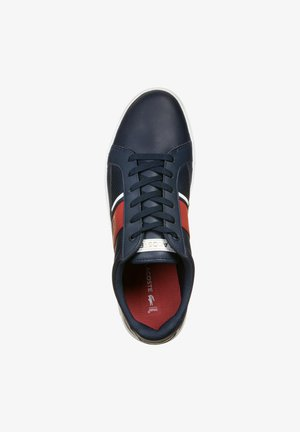 SCHUHE EUROPA 120 - Baskets basses - navy/red