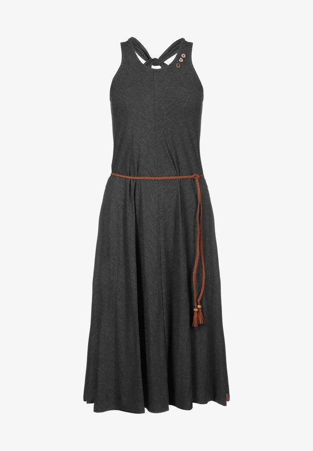 MILIE - Robe fourreau - black