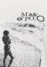 Marc O'Polo - ROUND NECK SHORT SLEEVE - Print T-shirt - paper white - 2