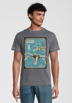T-shirt print - dunkelgrau