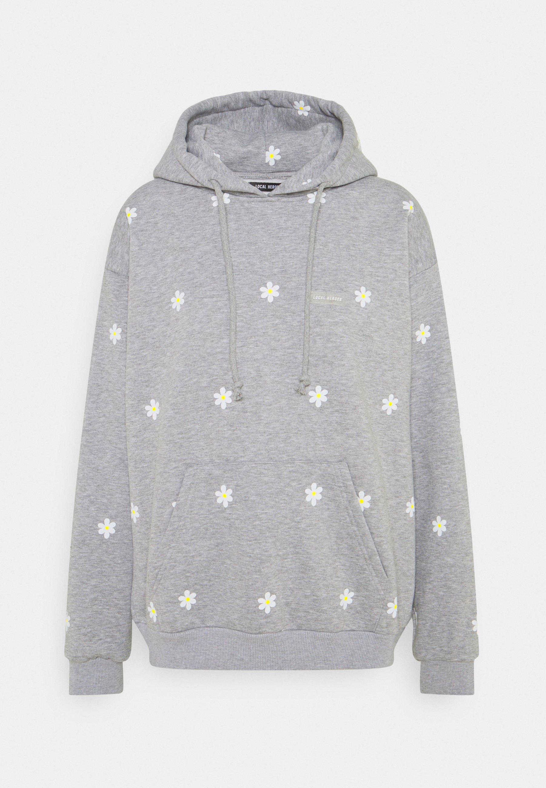 Women DAISY PRINTED HOODIE - Sweatshirt
