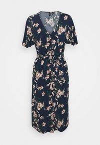 Vero Moda Petite - VMSIMPLY EASY CALF SHIRTDRESS - Maxi dress - navy blazer/imma - 0