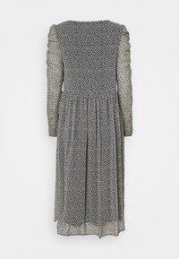 VILA PETITE - VIBERIN O NECK MIDI DRESS - Day dress - navy blazer - 1