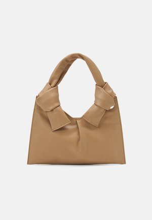 KNOT EVENING BAG - Håndveske - beige