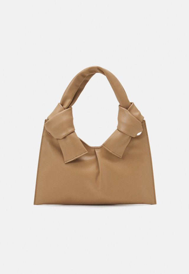 KNOT EVENING BAG - Kabelka - beige