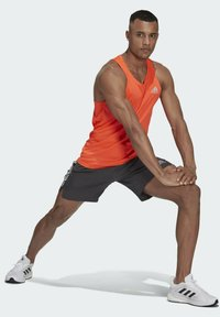 adidas Performance - OWN THE RUN SINGLET - Sports shirt - red - 1