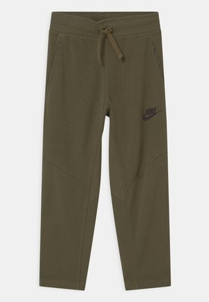 UTILITY BOTTOM - Tracksuit bottoms - medium olive/light army