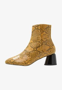 Topshop - BLAIR SMART BOOT - Classic ankle boots - yellow - 1