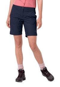 Jack Wolfskin - HILLTOP - Outdoor shorts - midnight blue - 0