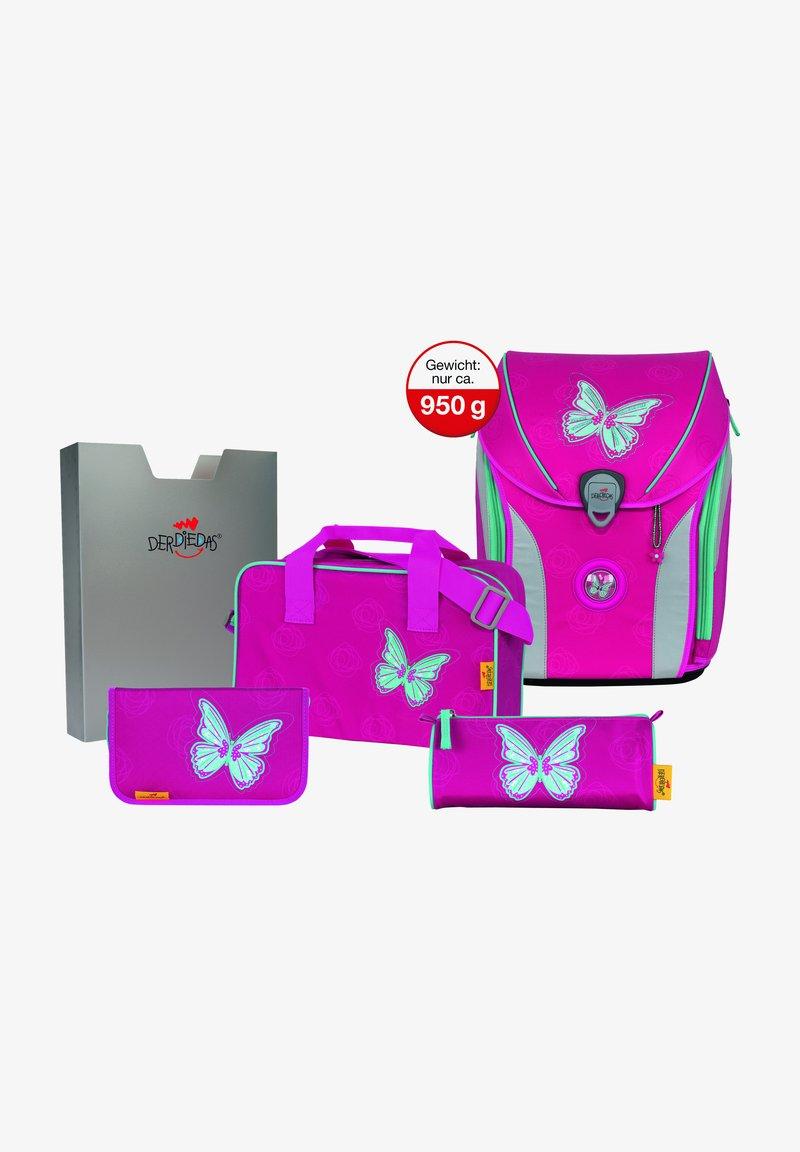 DerDieDas - SET 5TLG - Schooltas set - mariposa