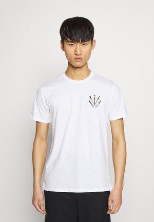 SMALL DAGGER - T-shirt con stampa - white