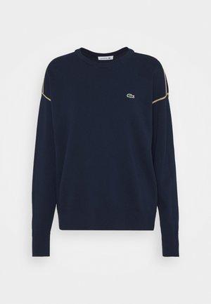Sweatshirt - navy blue/heather viennois