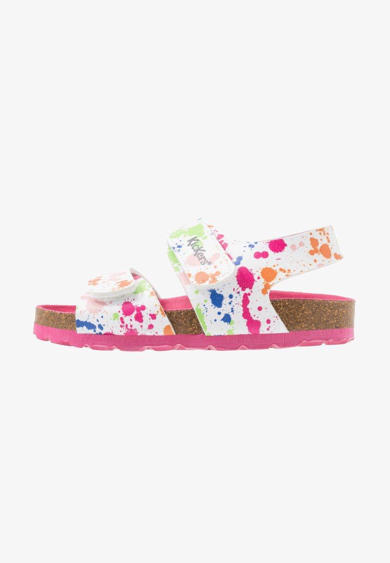 Kickers - SUMMERKRO - Sandals - blanc/multicolor