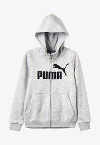 Puma - HOODED JACKET - Bluza rozpinana - light gray heather - 3