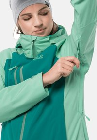 Jack Wolfskin - Hardshell jacket - emerald green - 3