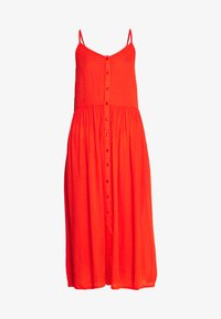 Vero Moda - VMMORNING MIDI DRESS - Ranta-asusteet - cherry tomato - 3