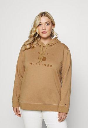 REGULAR FLOCK HOODIE - Sweater - countryside khaki